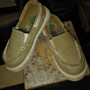 Boys slip on almost dress shoes